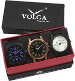 VOLGA VLW05-23-32-38 Mens Leather Belt C...