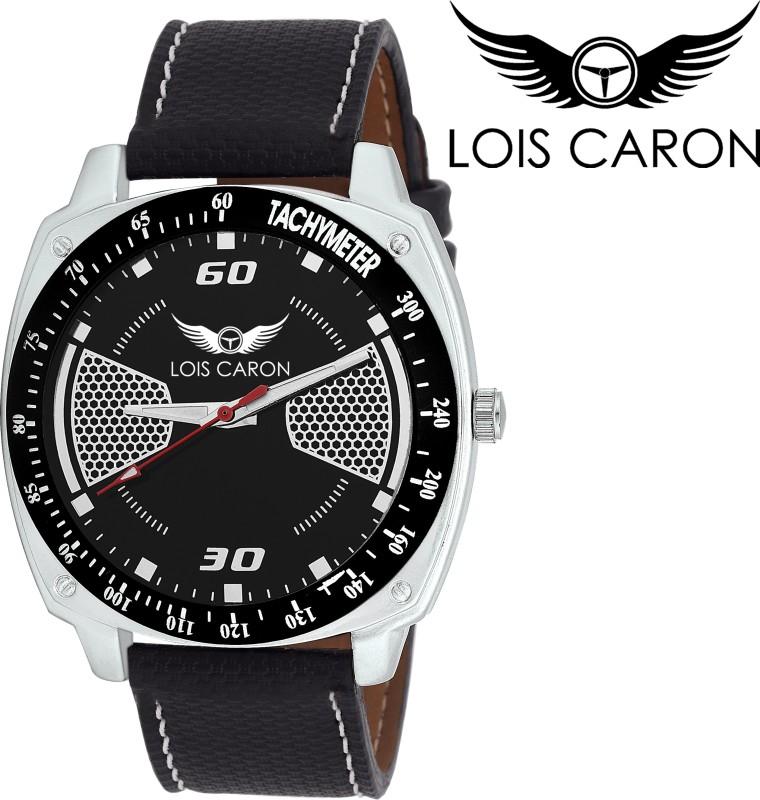 Lois Caron LCS 4137 BLACK Analog Watch For Men
