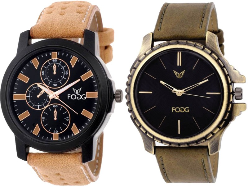 FOGG Attractive Combo of 2 Watches 5053 Modish Analog Watch Fo