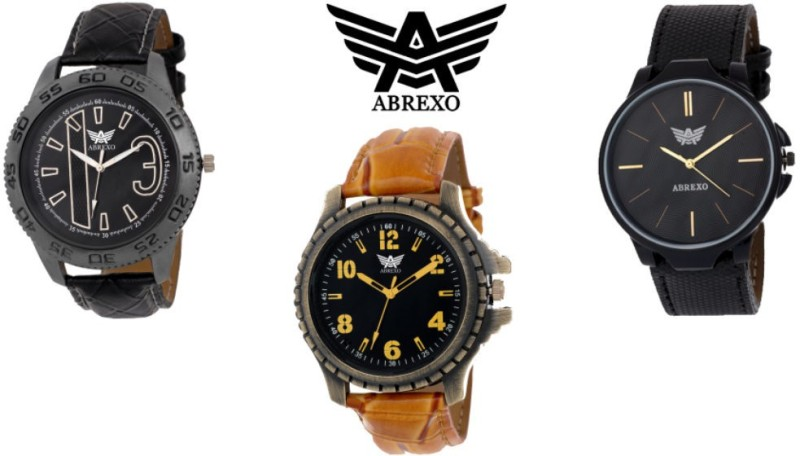 Abrexo Abx 4142 GD COMBO GD COMBO Analog Watch For Men