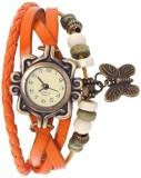 Ely Bracelet Vintage Butterfly Analog Wa...