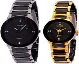 TOREK Black Dial Couple Analog Watch  - ...