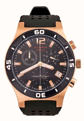 Aiqon S0140002 Swiss-Made Chronograph Analog Watch - For Men