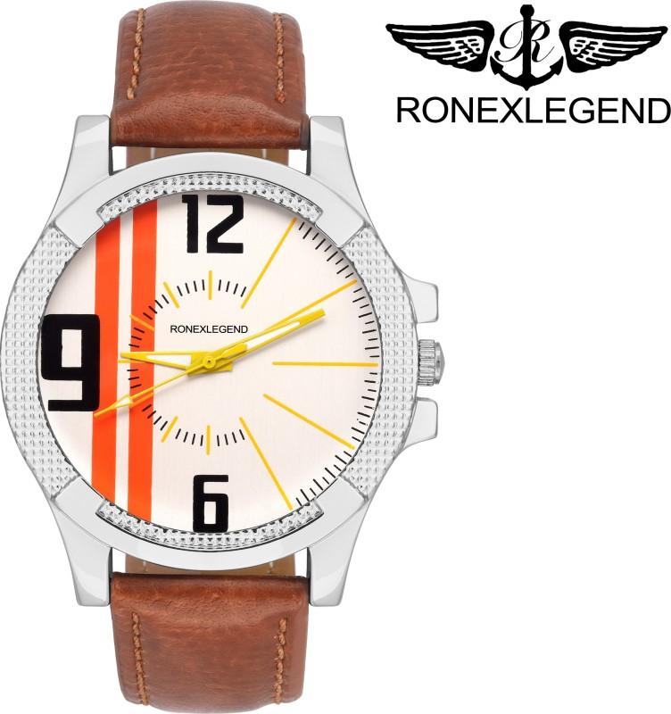 RONEXLEGEND RXD 4517 WHITE DAIL ANALOG RXD 4517 Analog Watch F