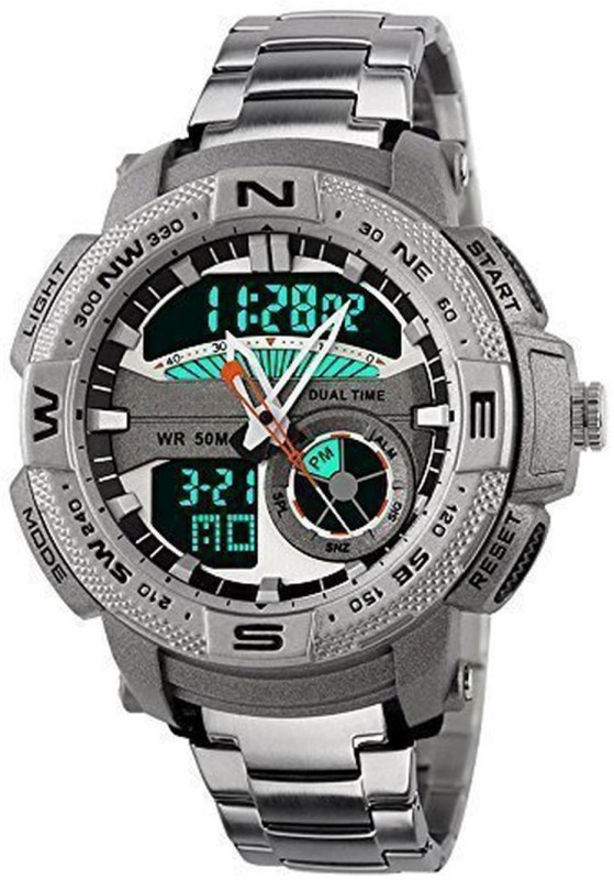 PredictWay 1121SLR SKMEI Analog Digital Watch For Men