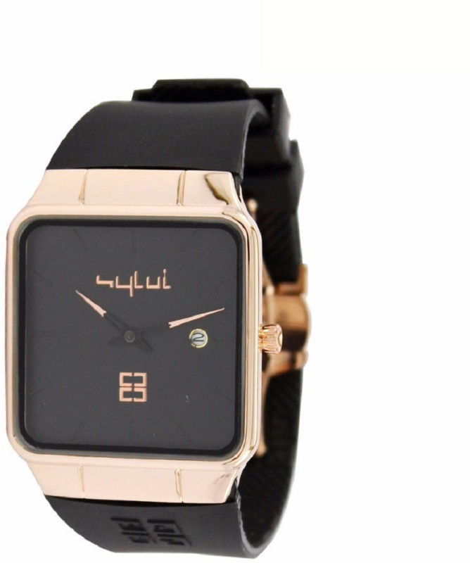 SPINOZA sylvi square black professional and luxurious Analog Watc