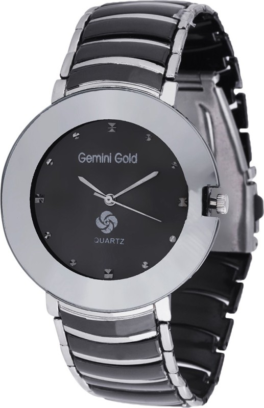 GEMINI GOLD GOLD 1211 Party Analog Watch For Men