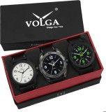VOLGA VLW05-13-18-34 Mens Leather Belt Combo With Designer Stylish Branded Trendy box Analog Watch  - For Men