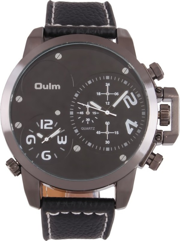 Oulm HP3182WH Analog Digital Watch For Men