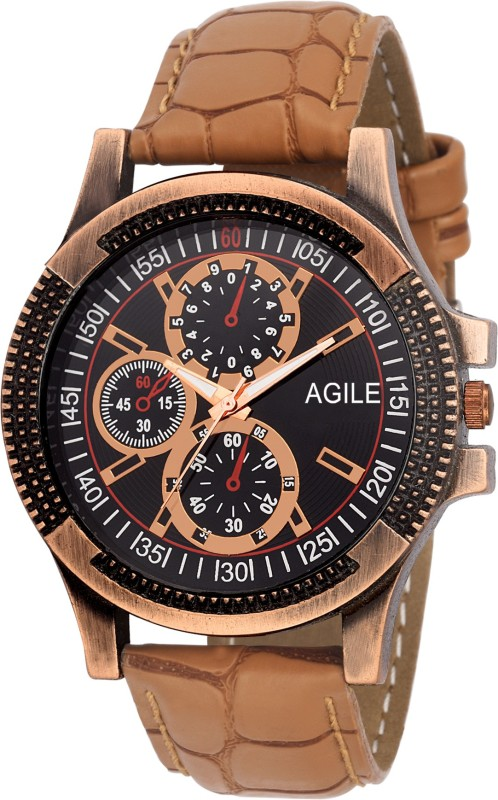 Agile AGM086 Classique Analog Watch For Men