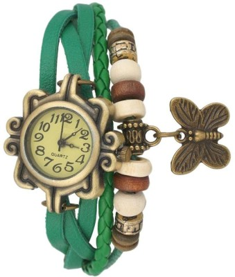 3D Fashion GREEN_DORI Analog Watch - For Women