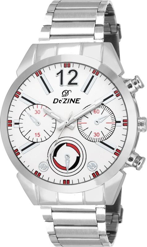 Dezine DZ GR048 WHT CH Analog Watch For Men