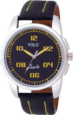 Yolo YGS-019_BK Analog Watch  - For Boys, Men
