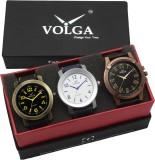 VOLGA VLW05-11-23-33 Mens Leather Belt C...