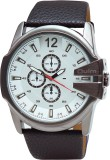 OULM HP9538WH Analog Watch  - For Men