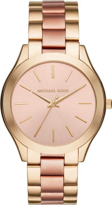 Michael Kors MK3493 Slim Runway Analog Watch For Women