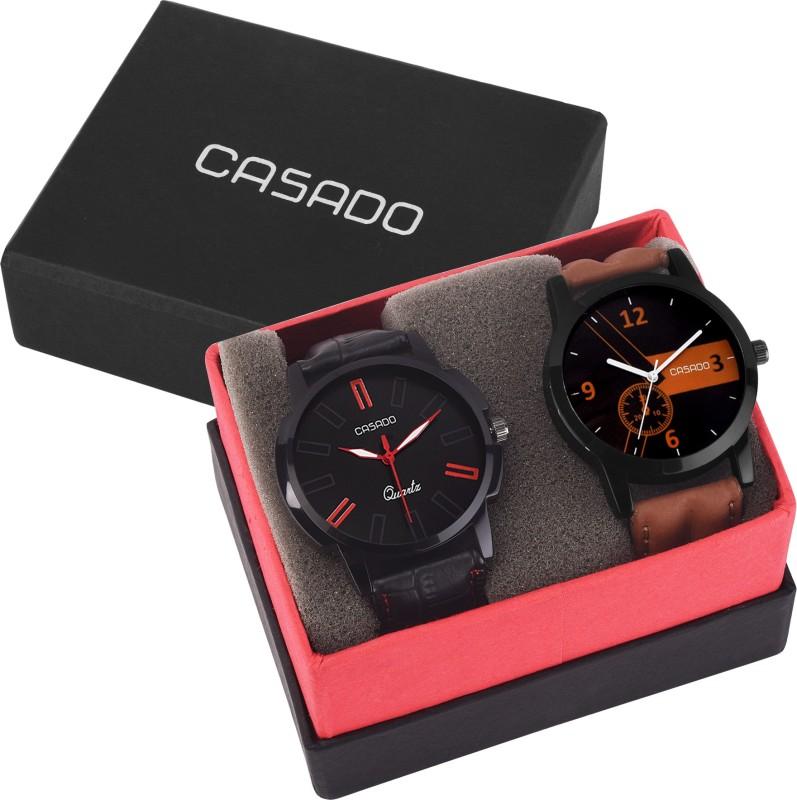 Casado 153and160 Combo of 2 Elegant Masterpiece Analog Watch F