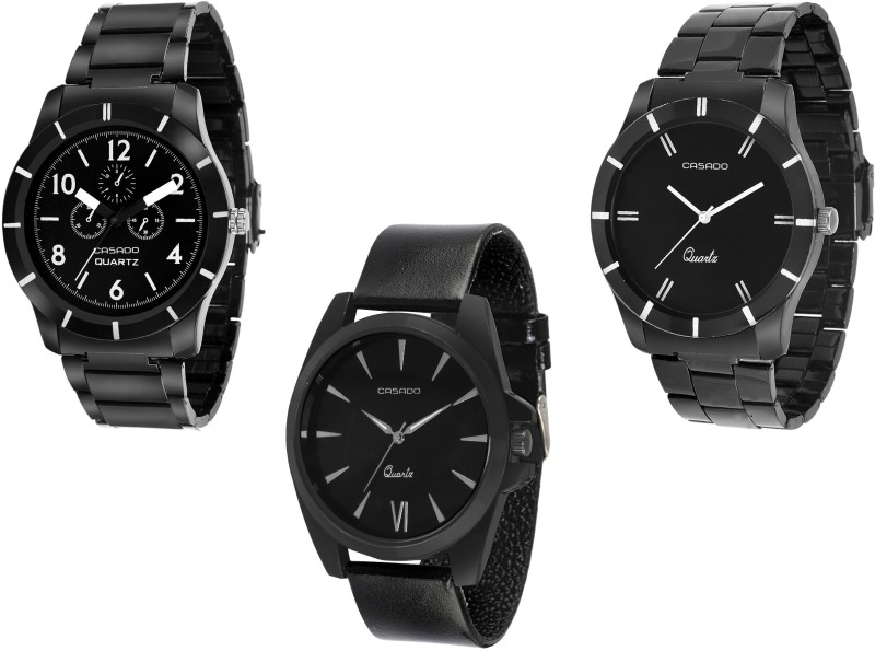Casado 107nd755nd123 COMBO OF 3 EXPERIENCE Analog Watch For Me