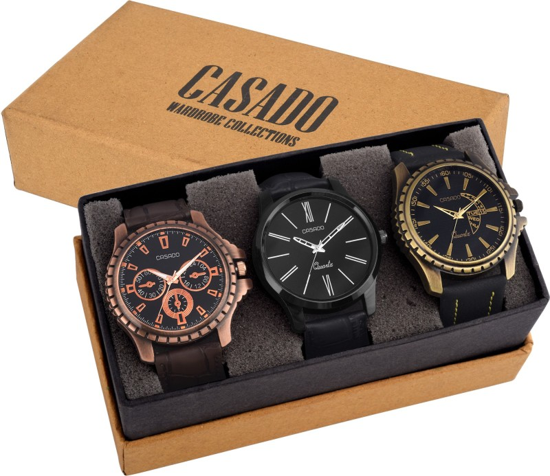 Casado 755AND720AND773 COMBO OF 3 LATEST EDITION WATCHES WITH JAP