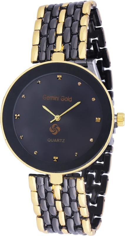 GEMINI GOLD GOLD 1237 Party Analog Watch For Men