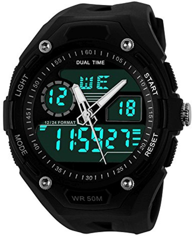 PredictWay 1015 SKMEI Analog Digital Watch For Men
