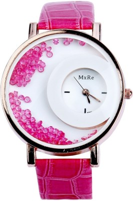 Style Feathers SF-HalfMoon-Pink Analog Watch  - For Women