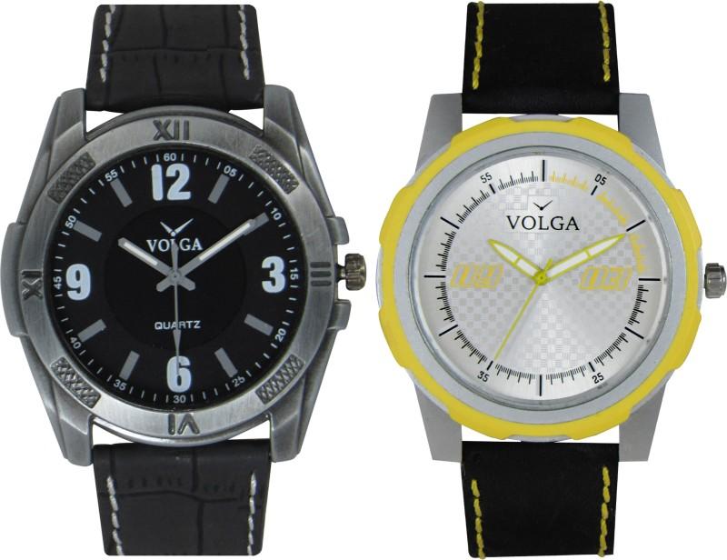 VOLGA Branded Leather Quality Designer Dial Diwali Special Combo6