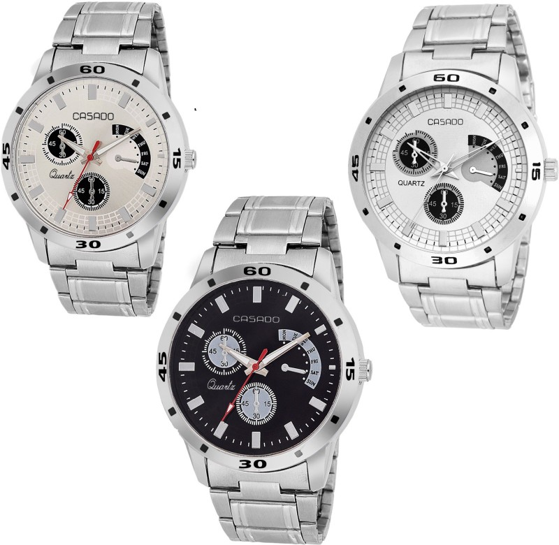 Casado 154nd150nd141 COMBO OF 3 POWER Analog Watch For Men