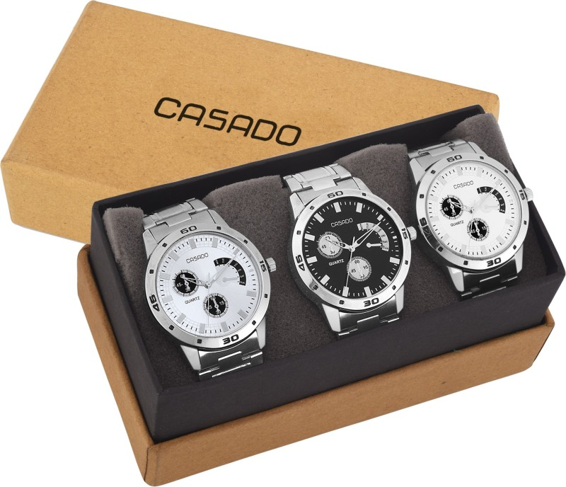 Casado 154and150and141 Combo of 3 BONA FIDE Timepiece Analog Watc