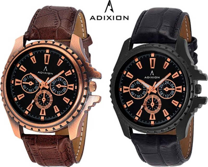 ADIXION 133KL01NL01 New Chronograph Pattern Antique Bezel Analog