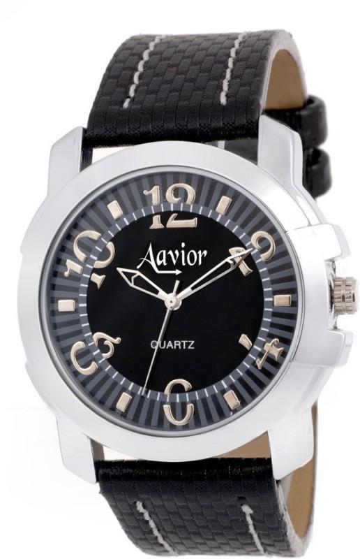 Aavior Fashion Black AA189 Analog Watch For Men