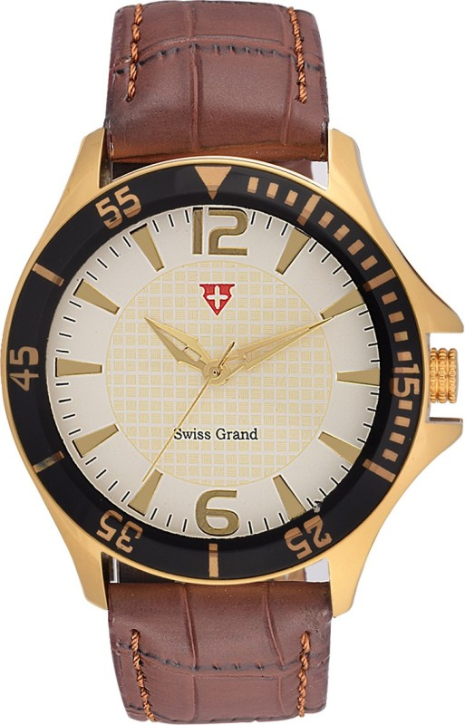 Swiss Grand NSG 0809White Analog Watch For Men