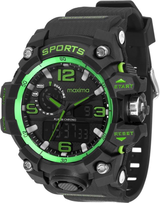 Maxima 42963PPAN Analog Digital Watch For Men