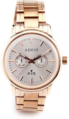 Adexe 8374 AD Analog Watch  - For Men