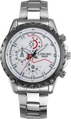 Longbo HLBLK216537 Saffron Analog Watch  - For Men