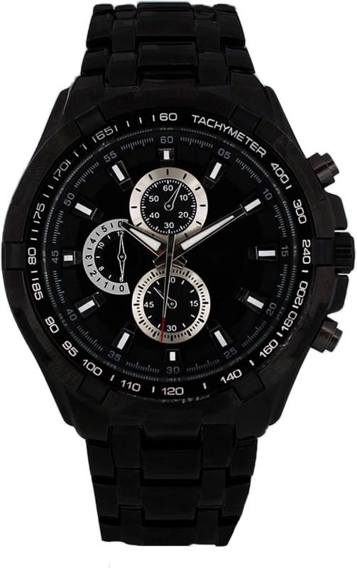 3WISH CUR BLACK BLACK Analog Watch For Men