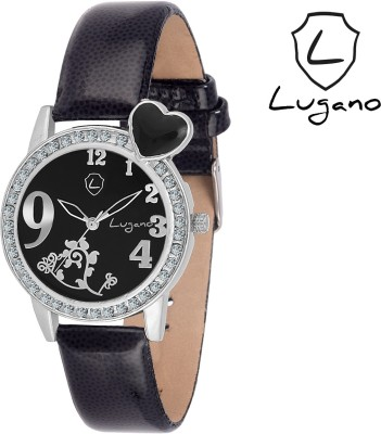 Lugano DE2008 Boutique Collection Analog Watch  - For Women, Girls