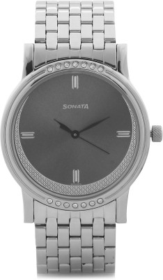Sonata 7108SM01 Analog Watch  - For Men