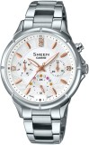 Casio SX166 Sheen Analog Watch  - For Wo...