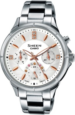 Casio SX166 SHEEN Analog Watch - For Women