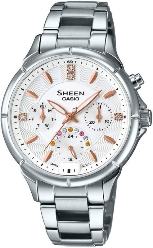 Casio SX166 Sheen Analog Watch For Women