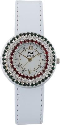 Zeus Z9069WhiteWhite Trendy Analog Watch  - For Women