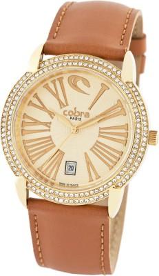 Cobra Paris PC60722-8 Analog Watch  - For Women, Girls