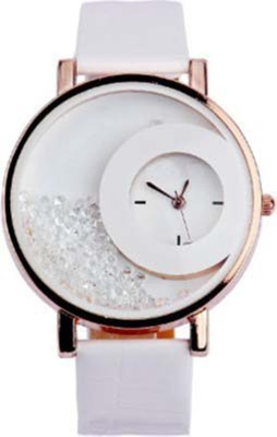 Shree Vallabh Mxre white moon Analog Watch  - For Women