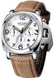 Megir 3406-Silver Analog Watch  - For Me...