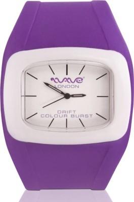 Wave London Wave London Drift Colour Burst Purple & White Watch (Wl-Cb-Pplw) Drift Colour Burst Analog Watch  - For Women