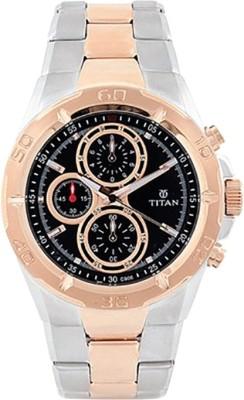 Titan NH9308KM02J Regalia Analog Watch - For Men