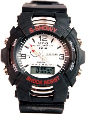 Surya Showy W MTG Neon Analog-Digital Watch  - For Men
