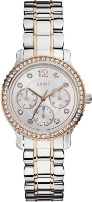 Guess W0305L3 Analog Watch - For Women
