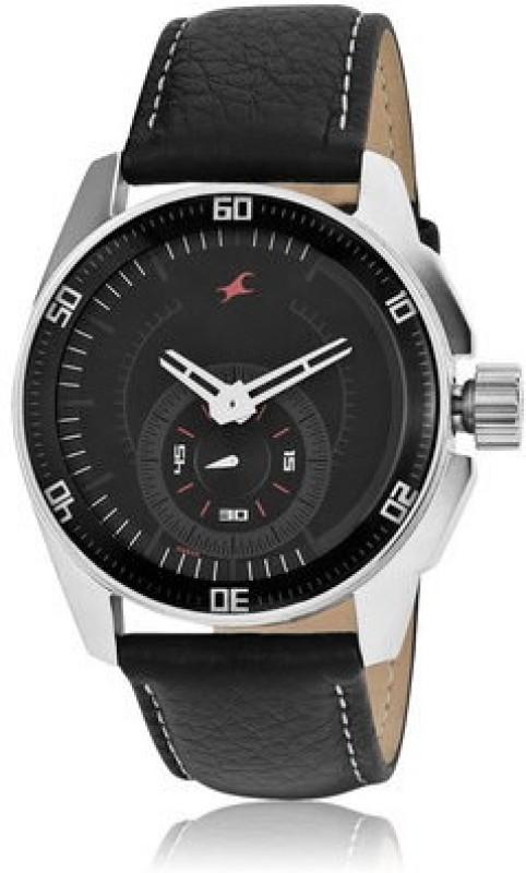 Fastrack NG3089SL04 Black Magic Analog Watch For Men
